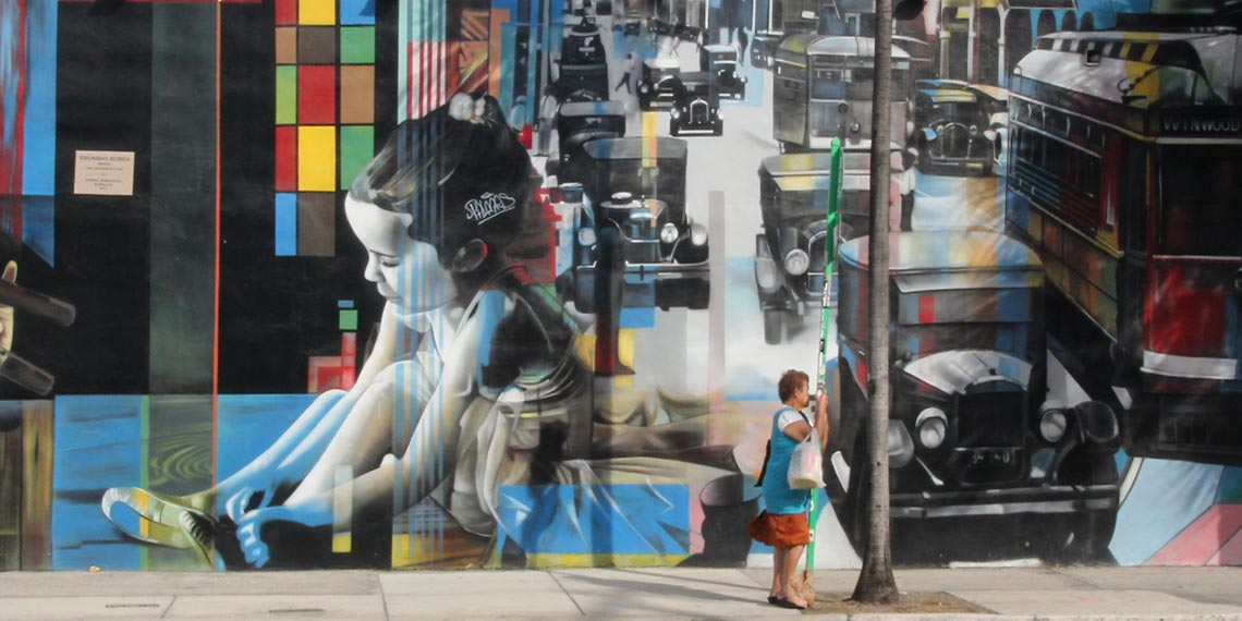 Midtown Miami : Wynwood Walls and Design District